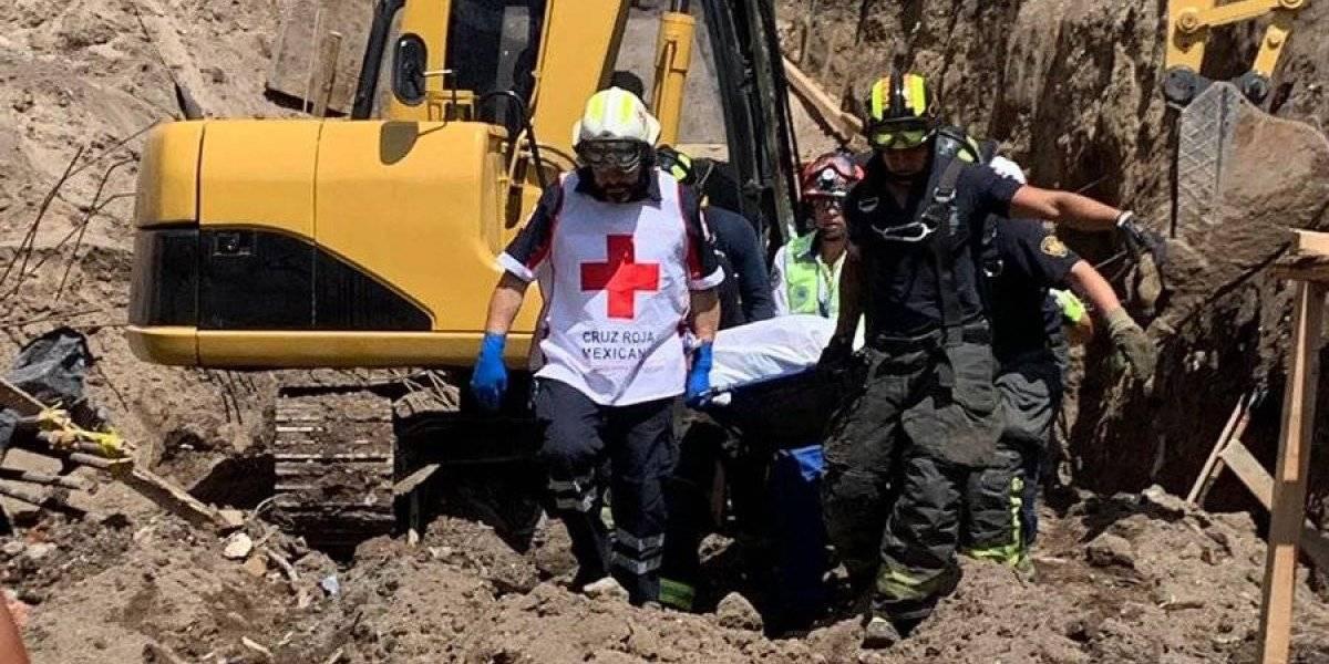 Rescatan cuerpo de trabajador tras derrumbe de obra en Álvaro Obregón