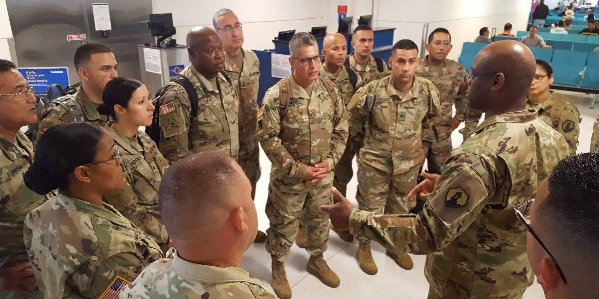 15 soldados boricuas parten hacia Medio Oriente a encargarse de importante instalación