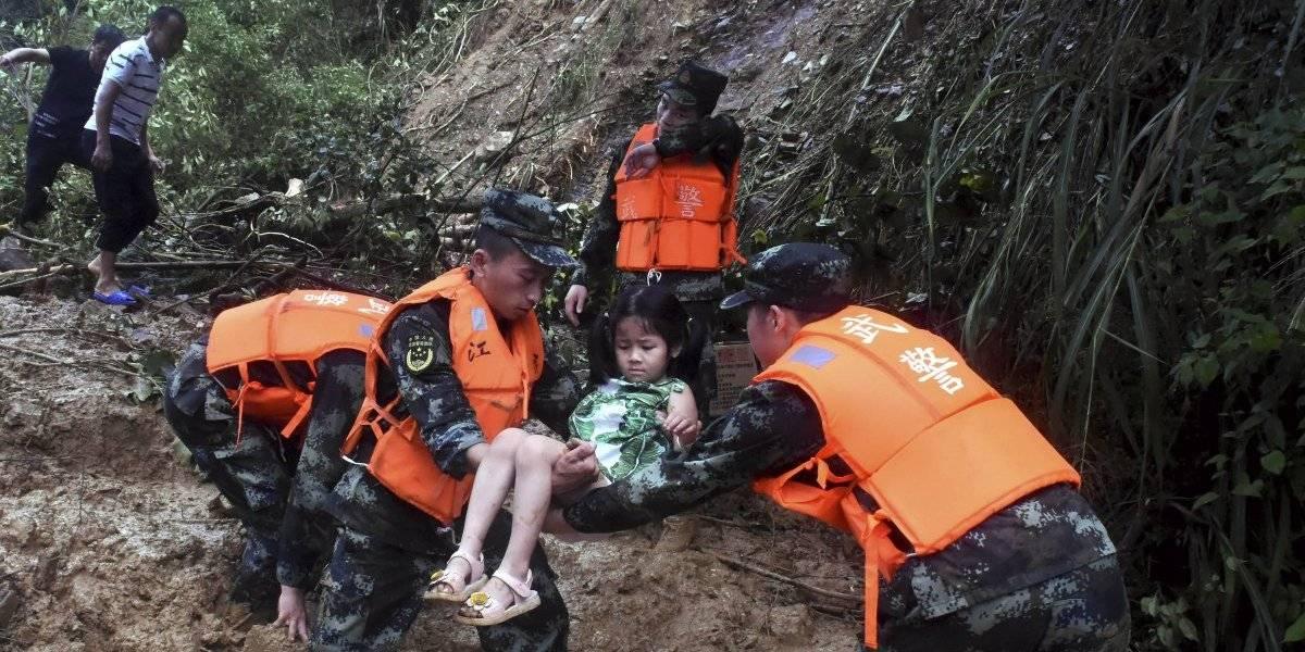 Inundaciones en China cobran vida de seis personas