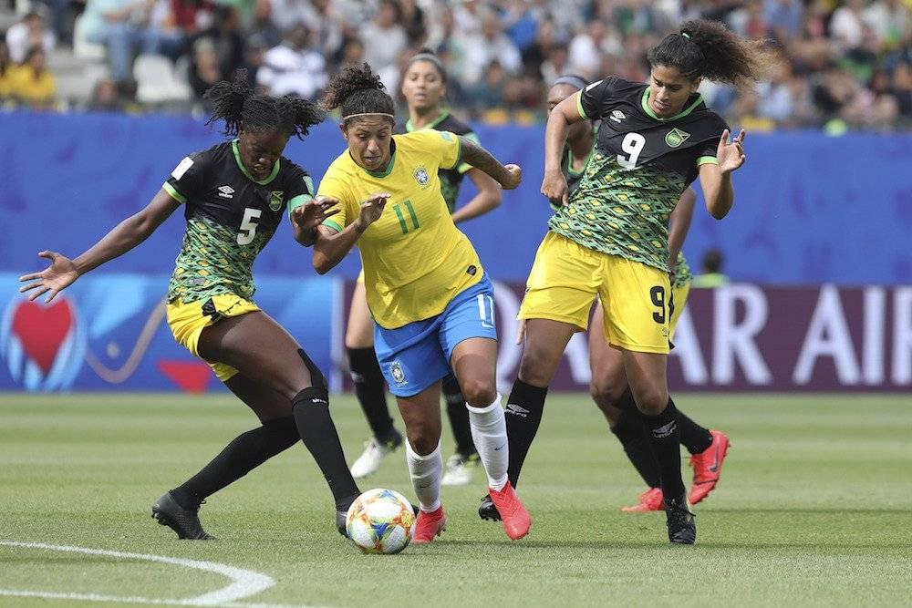 Brasil vs Jamaica AP