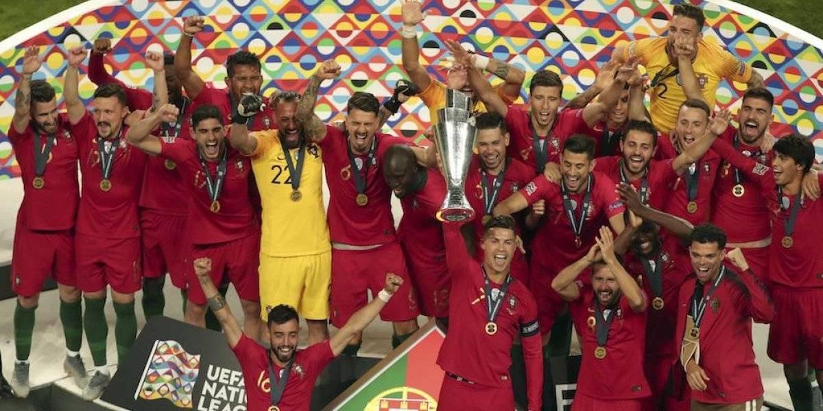 Portugal gana la primera Liga de Naciones de la UEFA