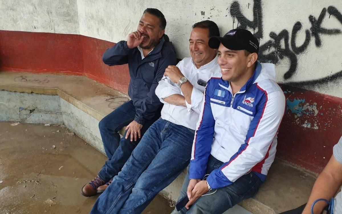 Candidatos a diputados de FCN-Nación y Samuel Morales