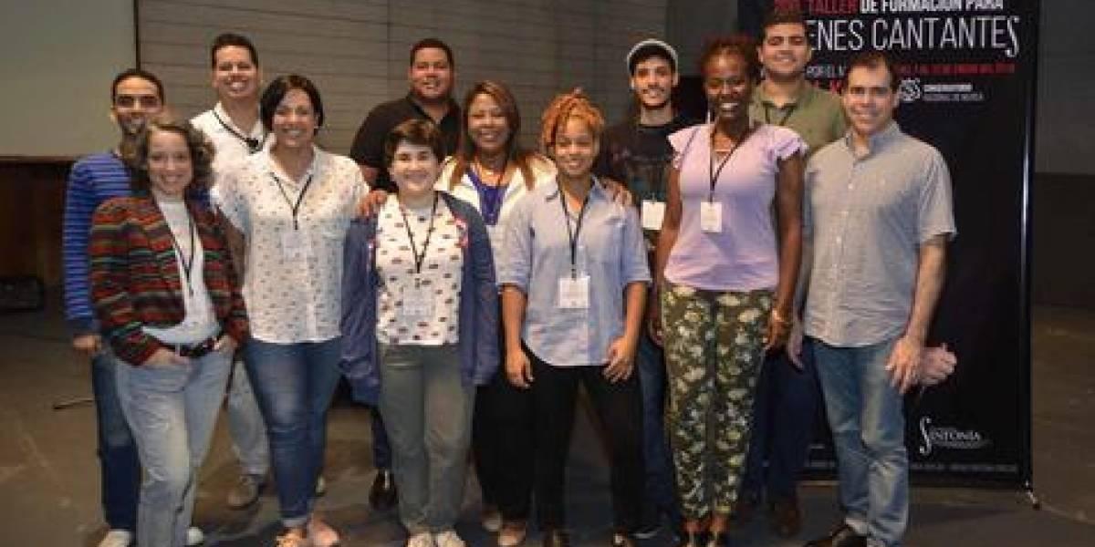#TeVimosEn: Fundación Sinfonía ofrece Programa de Formación para Jóvenes Cantantes