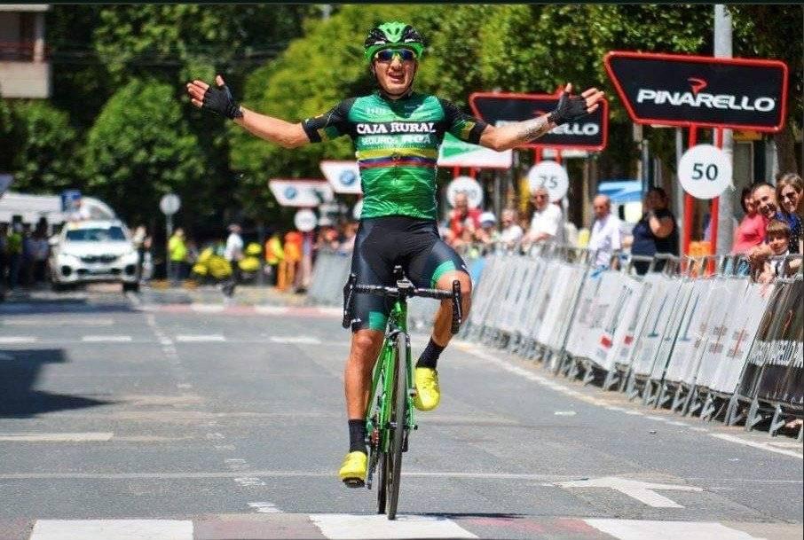 Jefferson Cepeda ganó la segunda etapa de la Vuelta a Salamanca