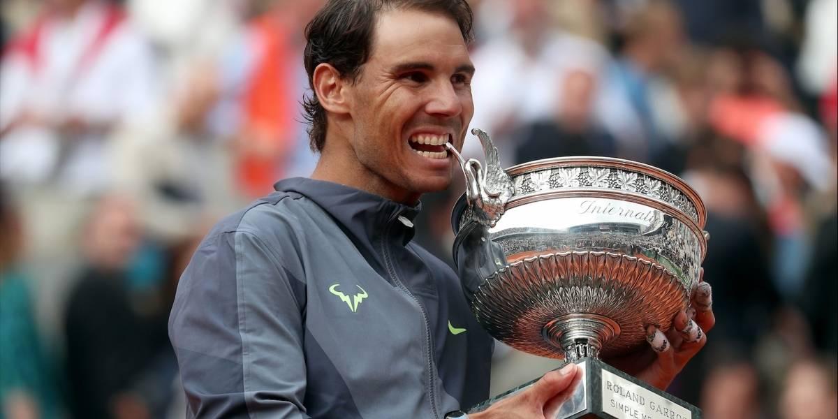 ¡Ya son 12! Continúa la leyenda de Rafael Nadal en Roland Garros