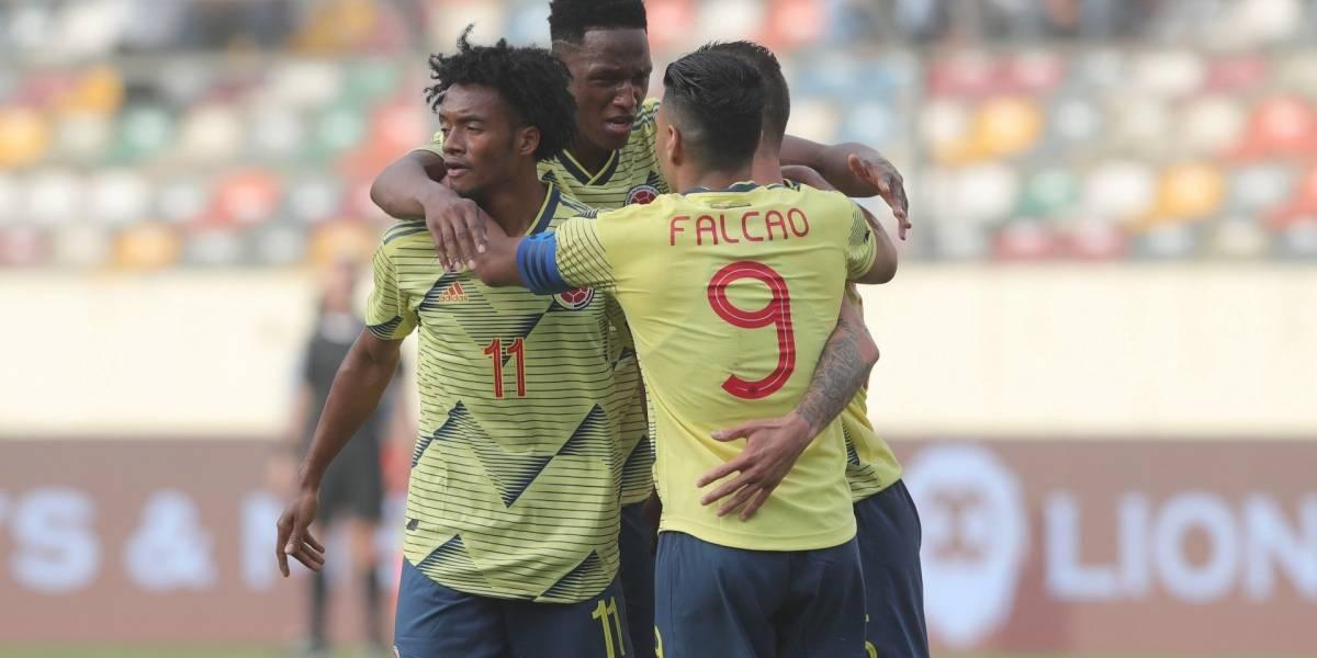 ¿Fue o no fue? Mateus Uribe abrió el marcador para Colombia con un polémico gol
