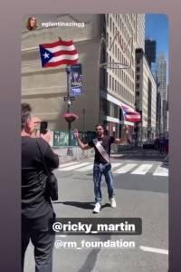 Ricky Martin toma las calles de NY