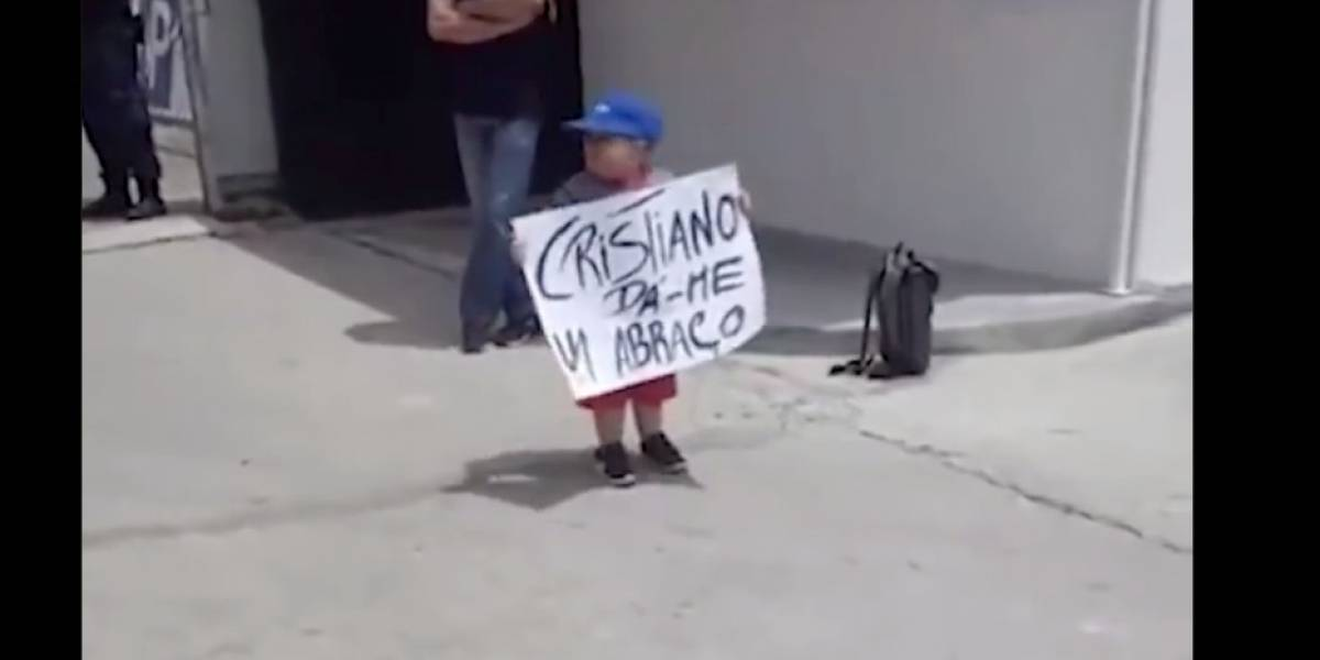 VIDEO. Previo a la final europea, Cristiano Ronaldo conmovió con un gran gesto