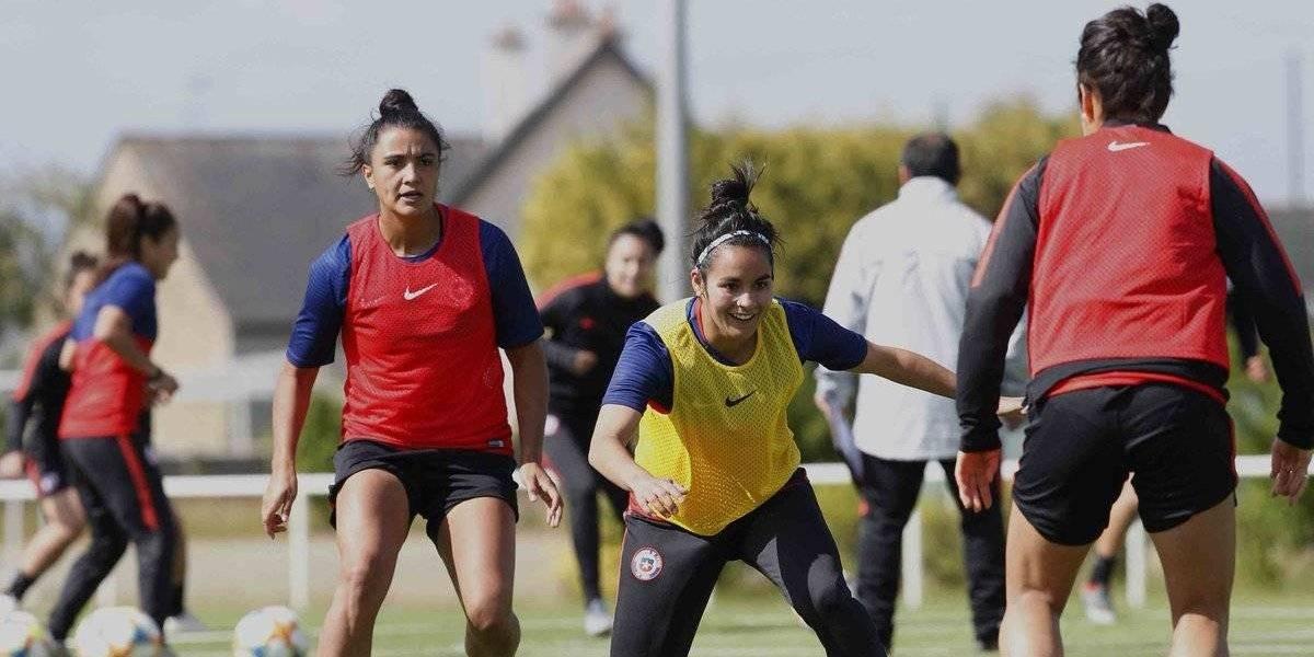 Chile conoció el estadio y ya tiene árbitra para su debut en el Mundial Femenino