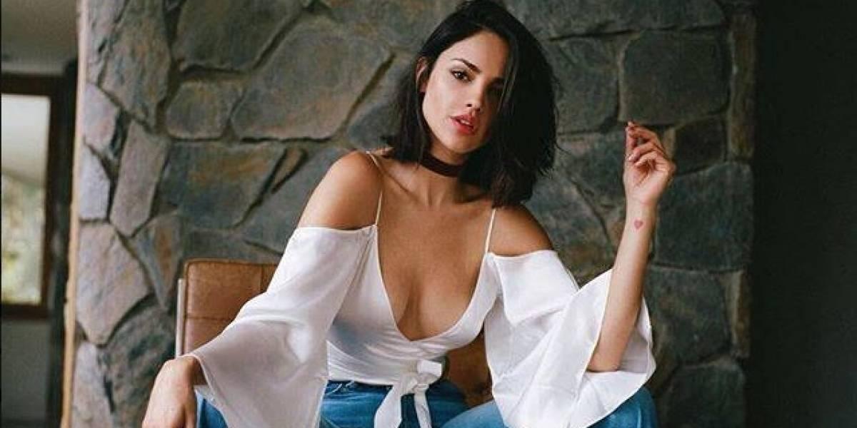 Filtran video de Eiza González dejando poco a la imaginación con diminuto bikini