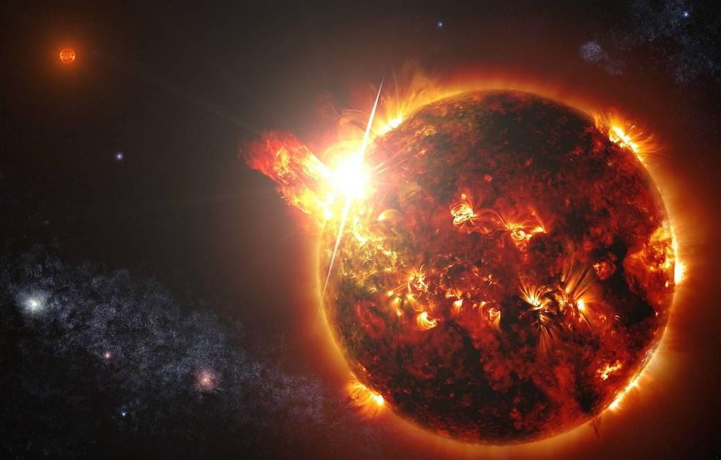 La NASA ha descubierto una inyección de masa coronal en una estrella lejana