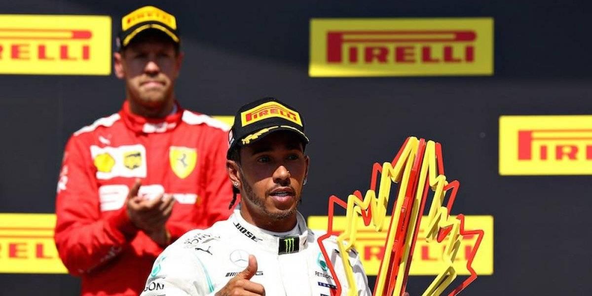Hamilton aprovecha penalización a Vettel para ganar el GP de Canadá