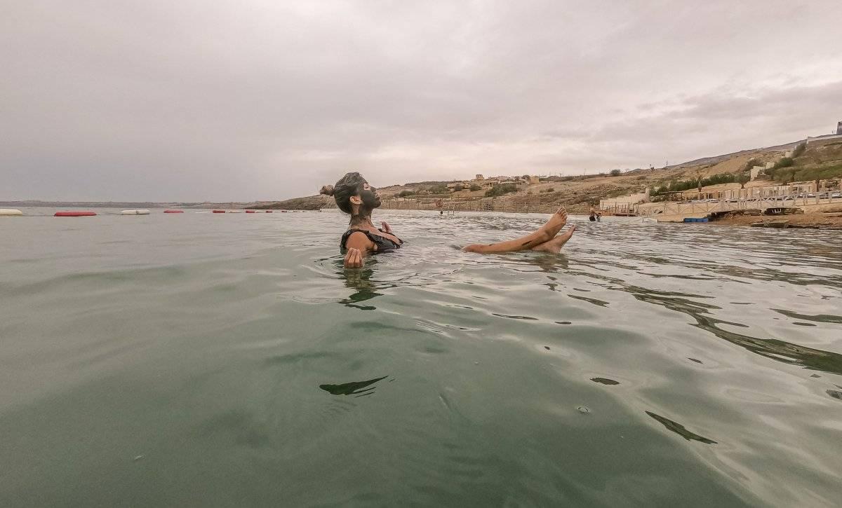 Nada nos quitó la felicidad de estar aquí. Así que nos lanzamos al mar. Latitud Perfecta