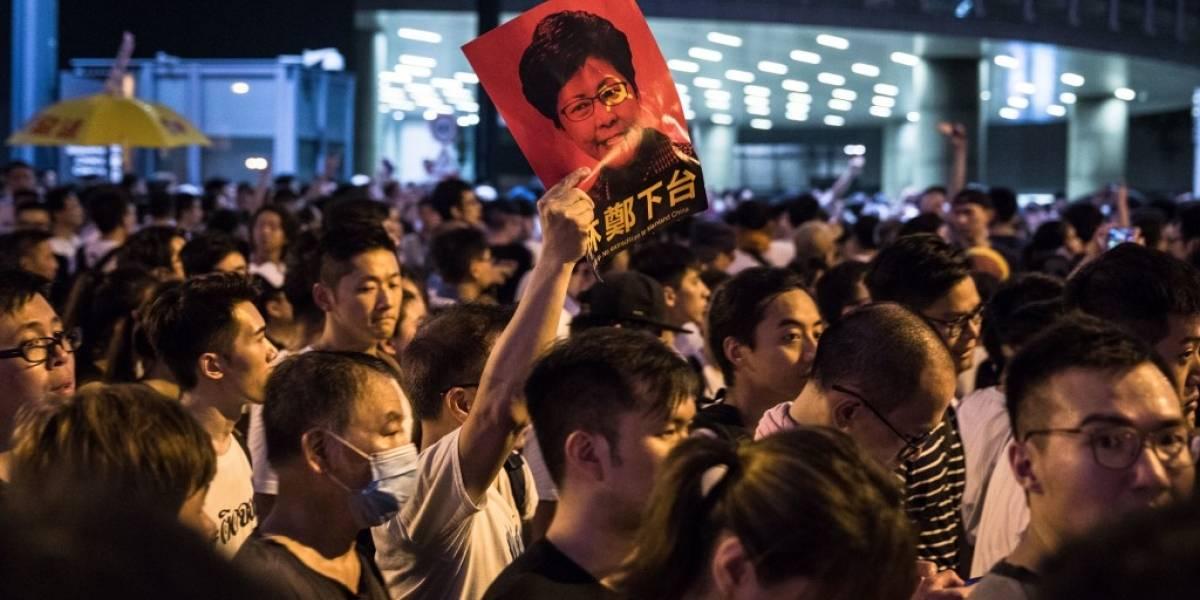 FOTOS. Masiva manifestación en Hong Kong contra extradiciones en China