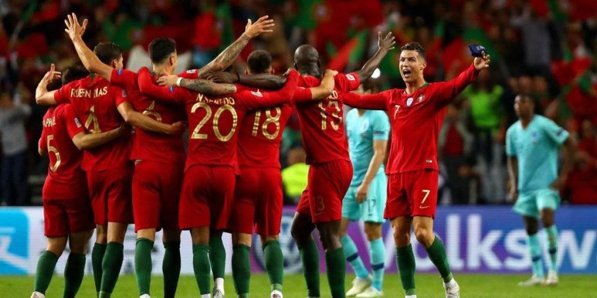 Portugal derrotó a Holanda y es el primer campeón de la UEFA Nations League