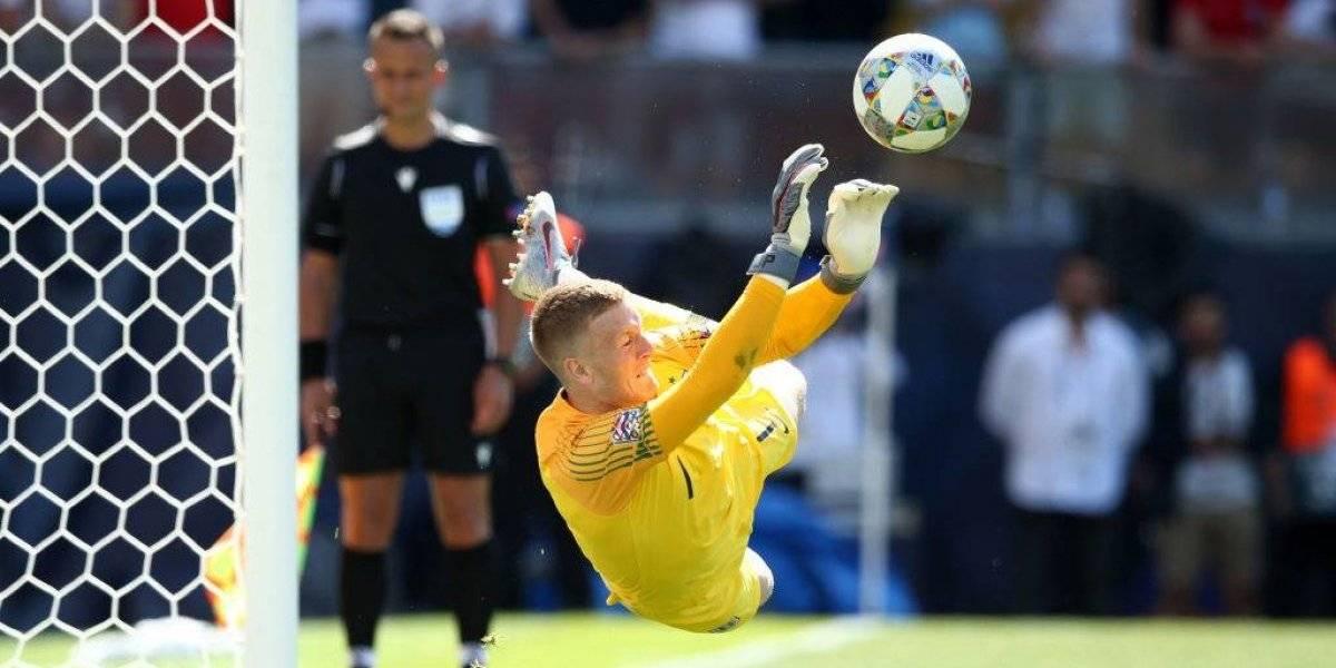 Inglaterra superó a Suiza en penales y se quedó con el tercer puesto de la UEFA Nations League