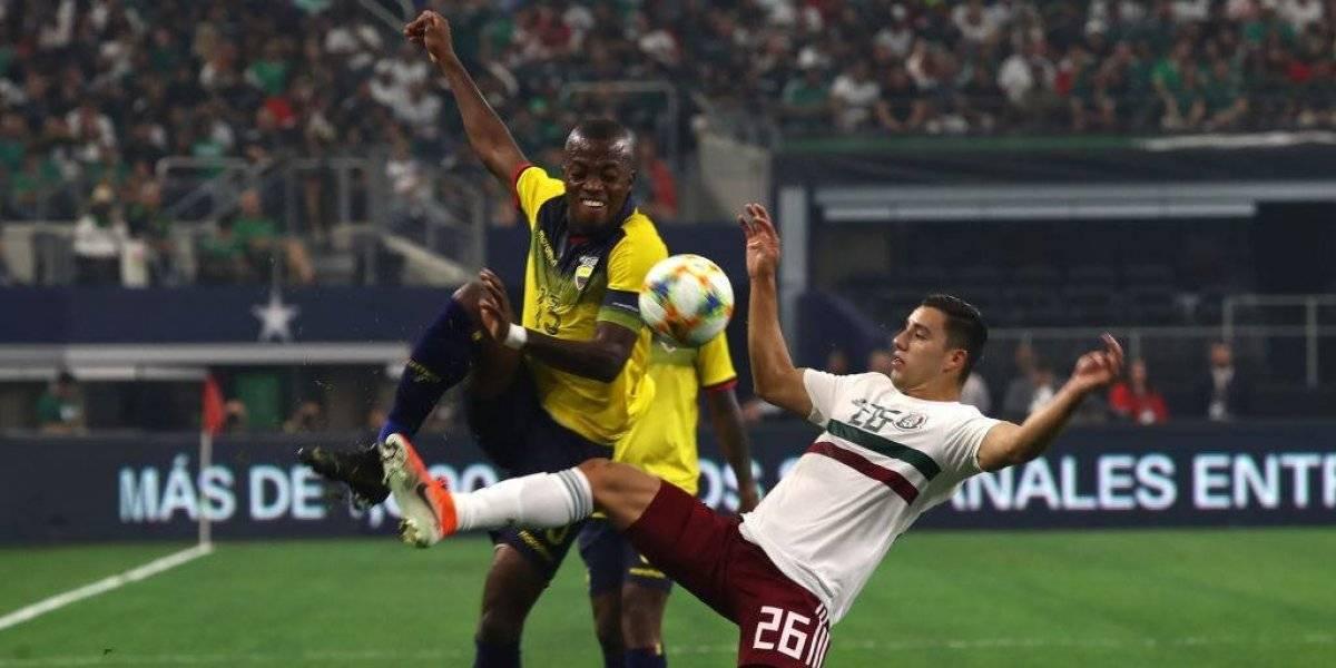 Cayó rival de Chile: Ecuador pierde ante México en su último amistoso previo a la Copa América