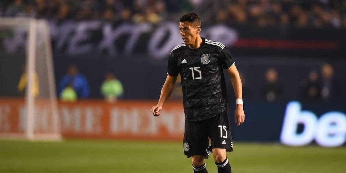 Héctor Moreno, en riesgo de perderse la Copa Oro