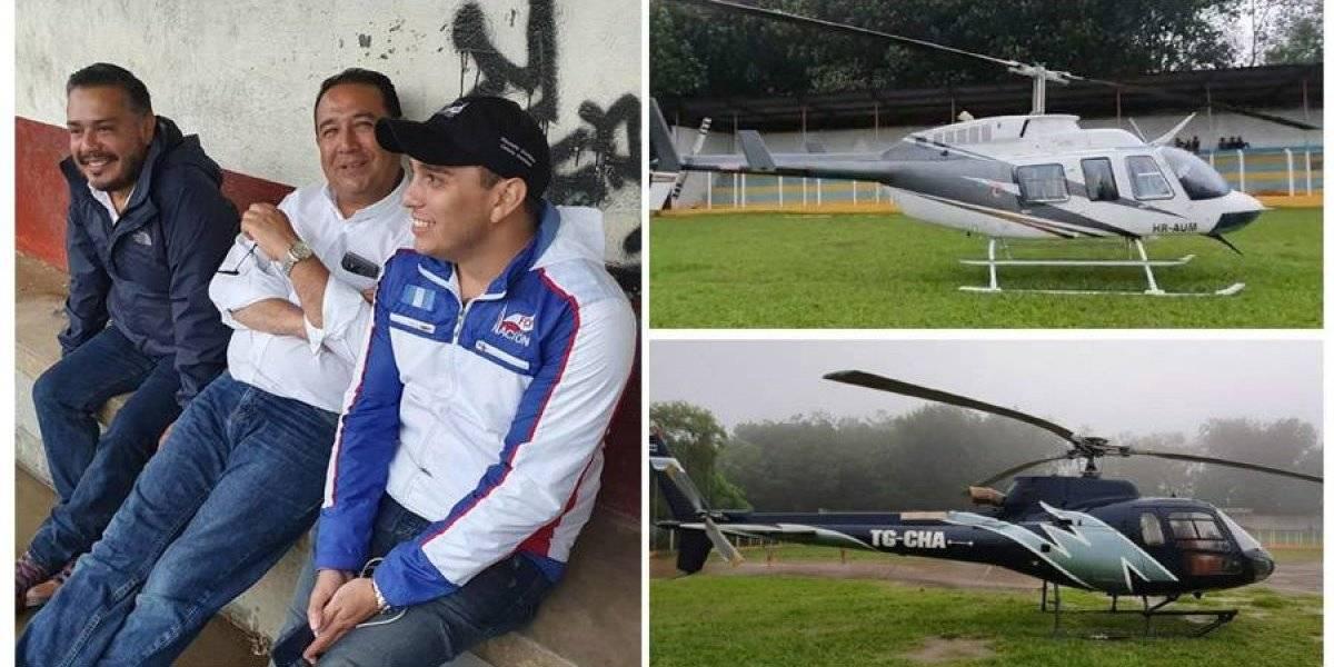 VIDEO. Dos helicópteros que transportaban a candidatos de FCN-Nación aterrizan de emergencia