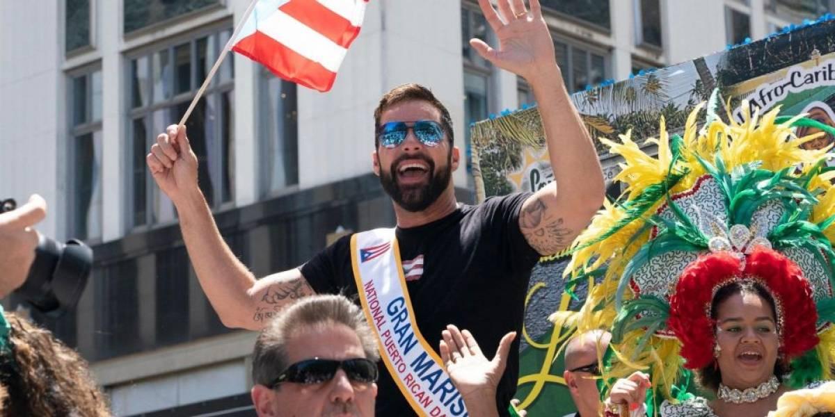 Ricky Martin toma las calles de Nueva York