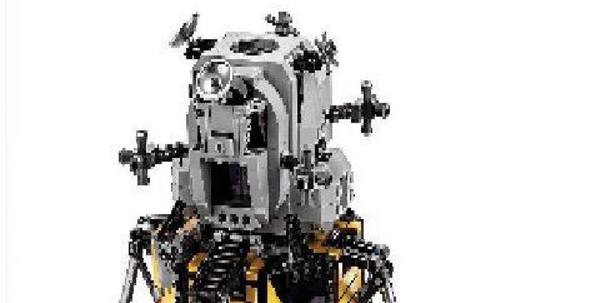Construye tu propio Módulo Lunar con bloques Lego