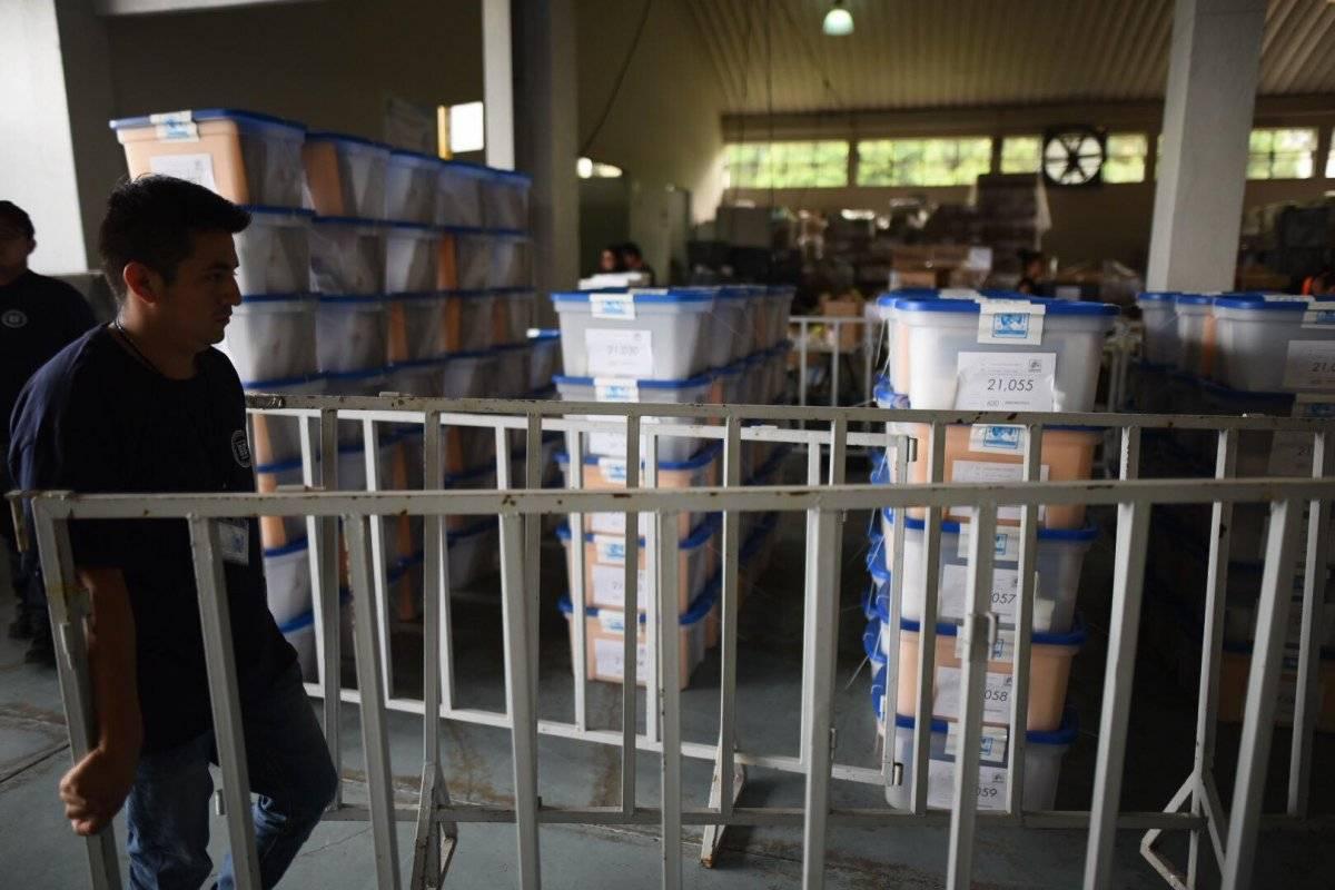 Papeletas electorales. Foto: Edwin Bercián