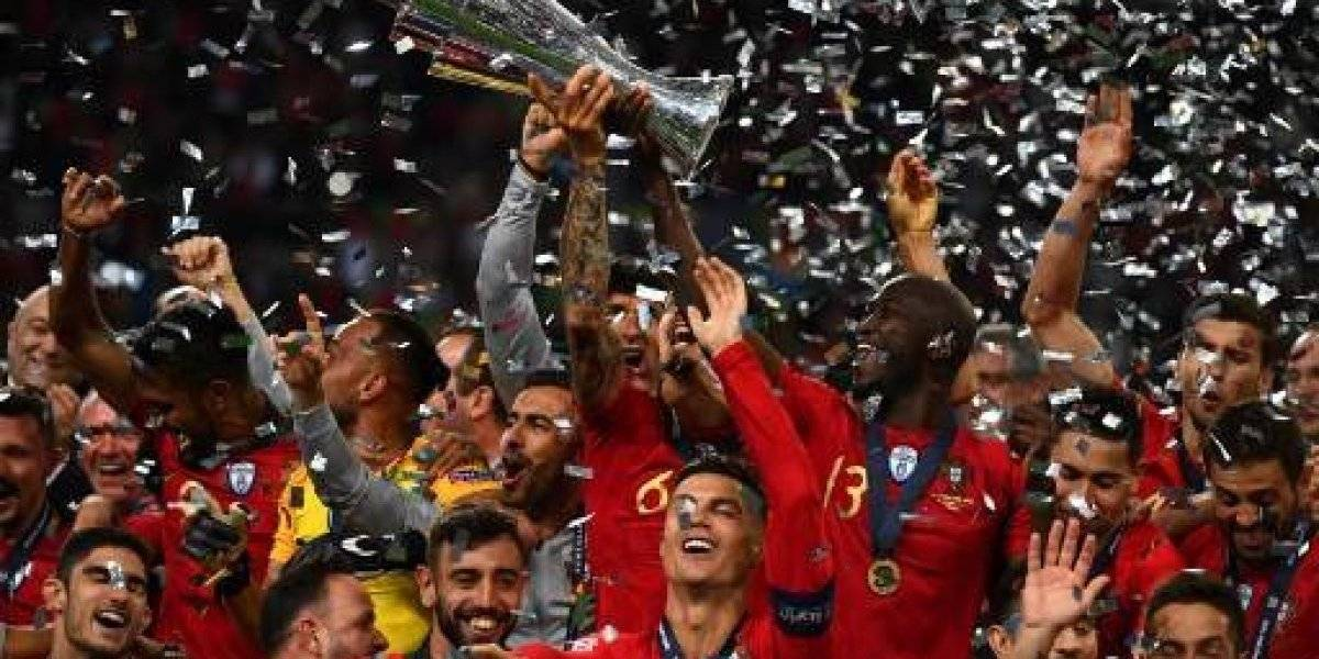 """Fernando Santos, técnico de Portugal: """"Es histórico"""" ganar la primera Liga de Naciones"""