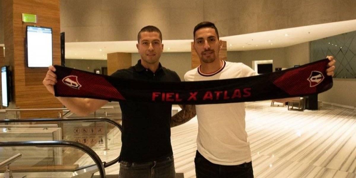 Nervo y Correa llegan a Guadalajara para integrarse al Atlas