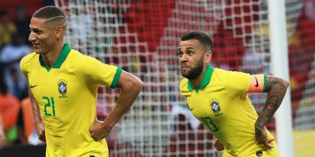 Sin Neymar, Brasil se divierte y golea previo al inicio de su Copa América