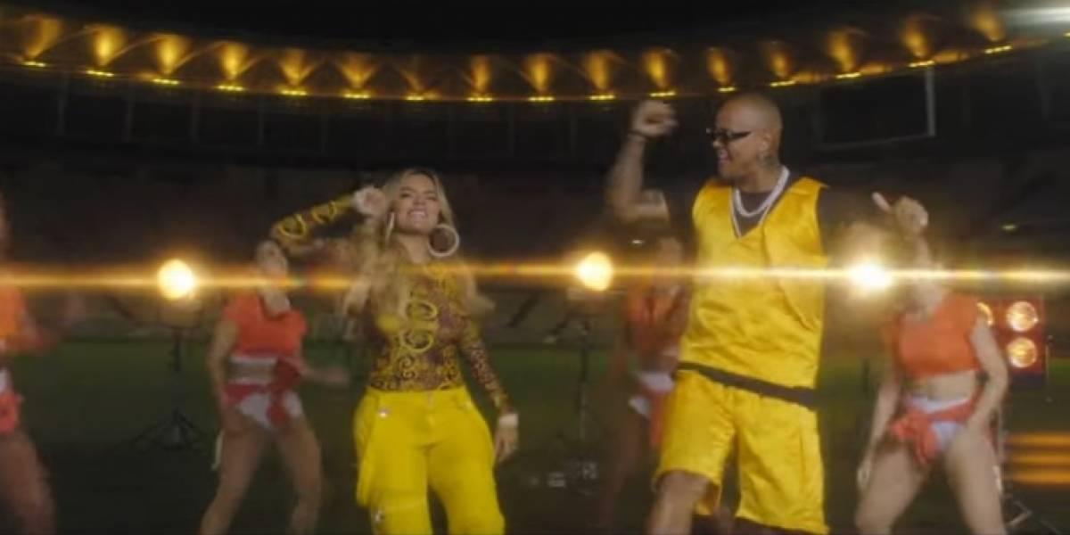 """Karol G interpreta """"Vibra continente"""", la canción oficial de la Copa América 2019"""