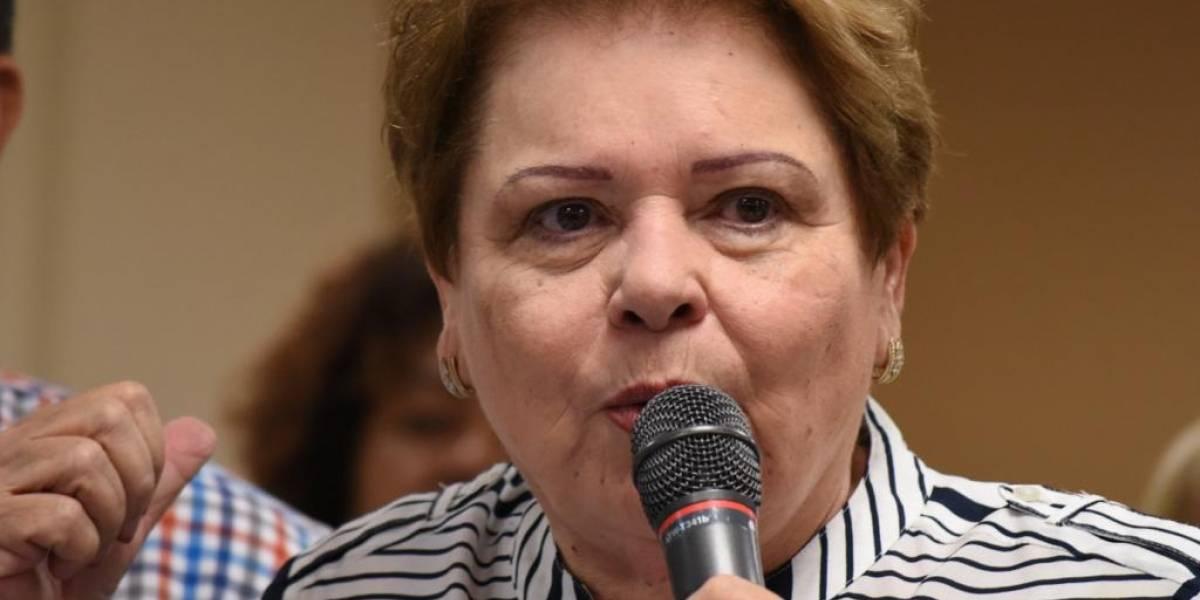 Aida Díaz dice JCF debe cambiar Plan de Ajuste Fiscal