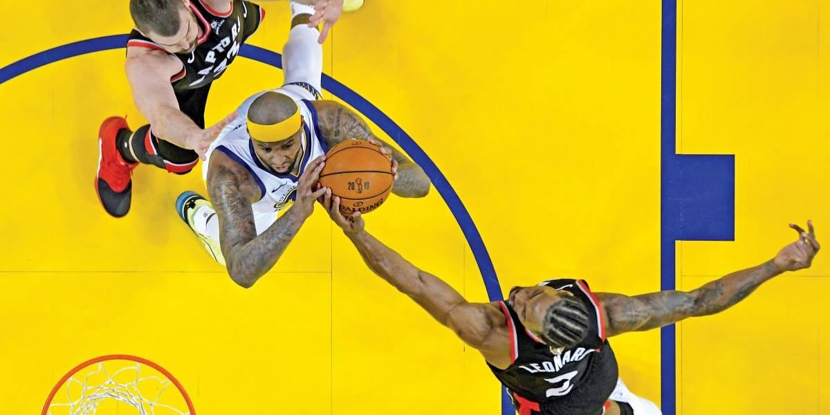 Toronto Raptors pode se consagrar campeão da NBA nesta segunda, com transmissão da Band