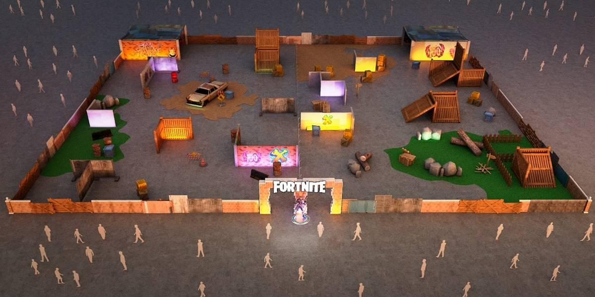 Fortnite na vida real? Game XP terá laser tag e simulação de queda do ônibus voador