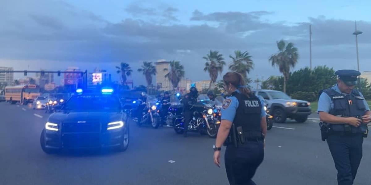 Cierran avenida hacia El Viejo San Juan por manifestación