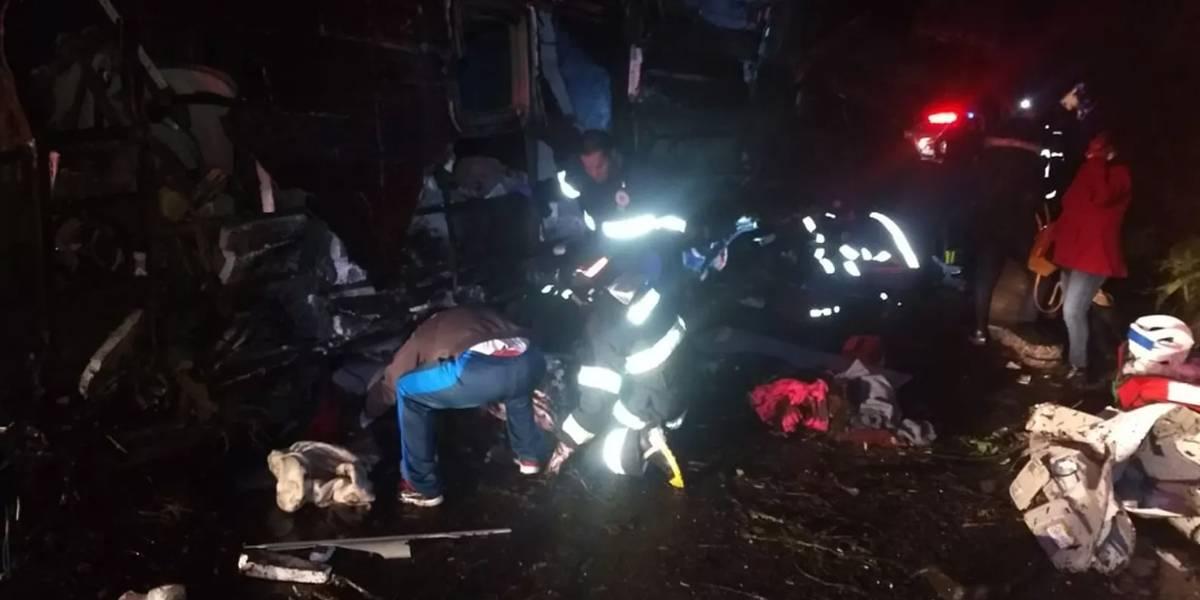 Ônibus que se acidentou em São Paulo não tinha condições de trafegar