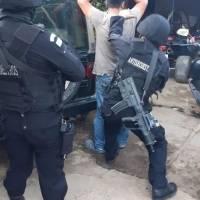 allanamientos contra secuestro en Antigua Guatemala