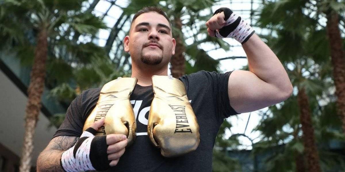 'Si no ponían el himno mexicano en mi entrada, no peleaba': Andy Ruiz Jr.