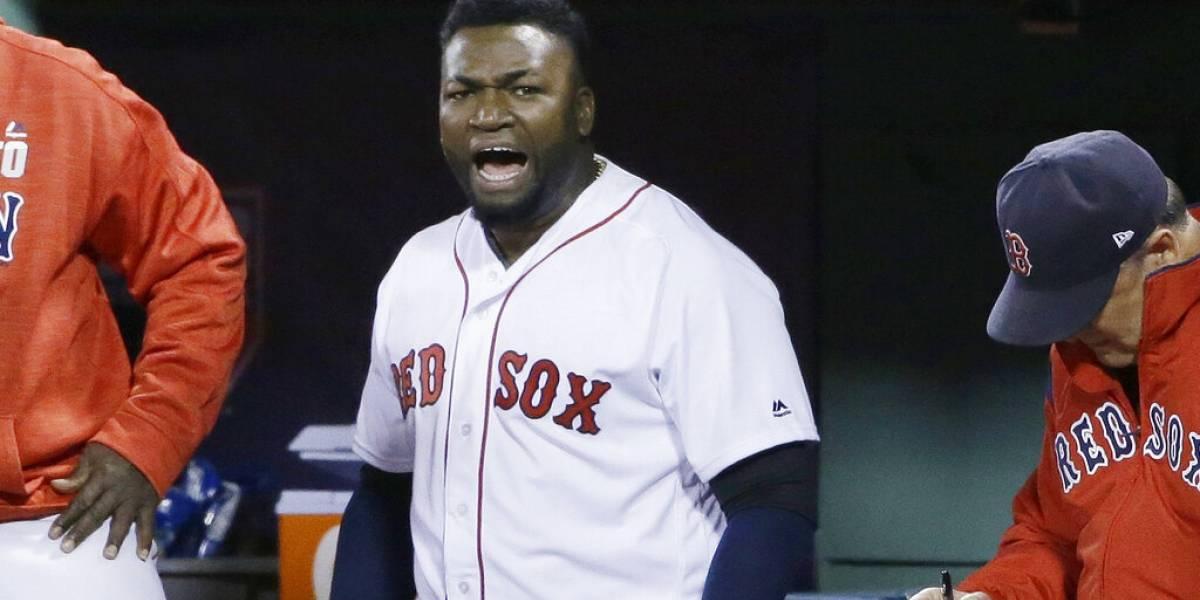 David Ortiz será trasladado a Boston en avión de los Red Sox