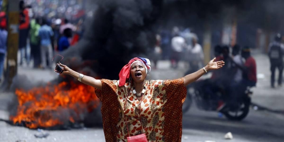Huelga paraliza Haití; exigen renuncia del presidente