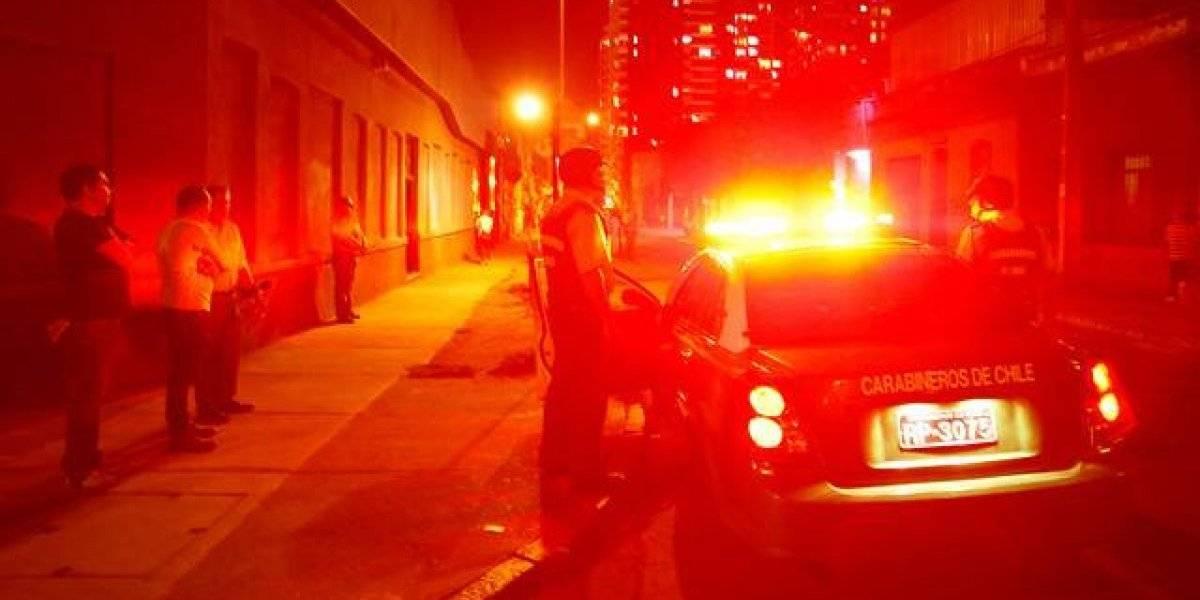 Cuatro delincuentes robaron un lujoso auto en San Miguel, lo empujaron hasta San Bernardo y terminaron detenidos en La Pintana