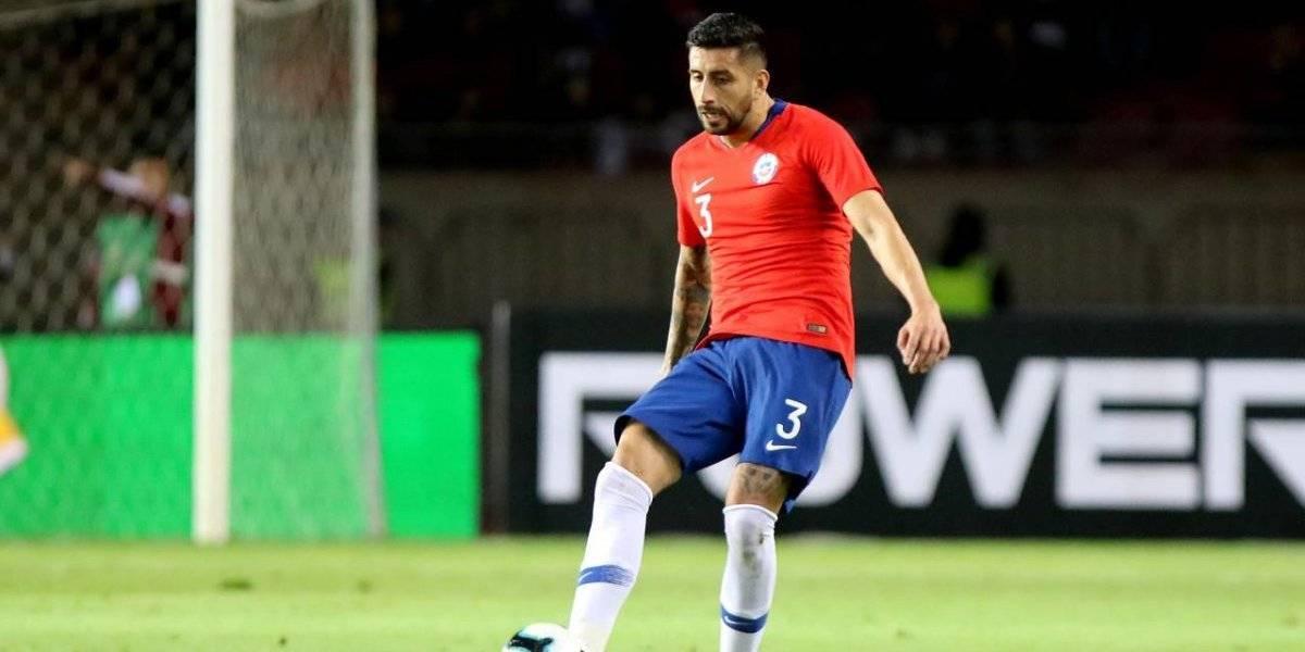 """Guillermo Maripán, el Toqui de la Roja: """"Estamos enfocados en revalidar el título de la Copa América"""""""
