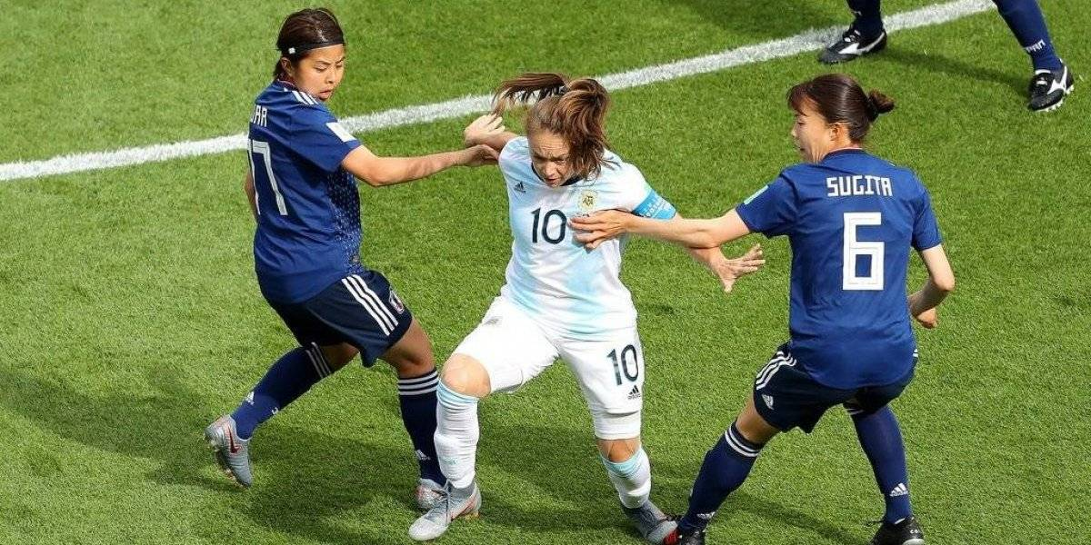 Argentina logra un empate histórico en el Mundial femenino ante el subcampeón del mundo Japón