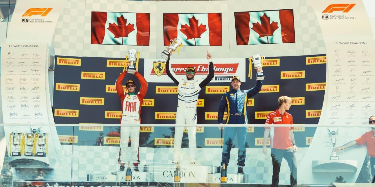 Hites cosecha dos podios teloneando la Fórmula 1