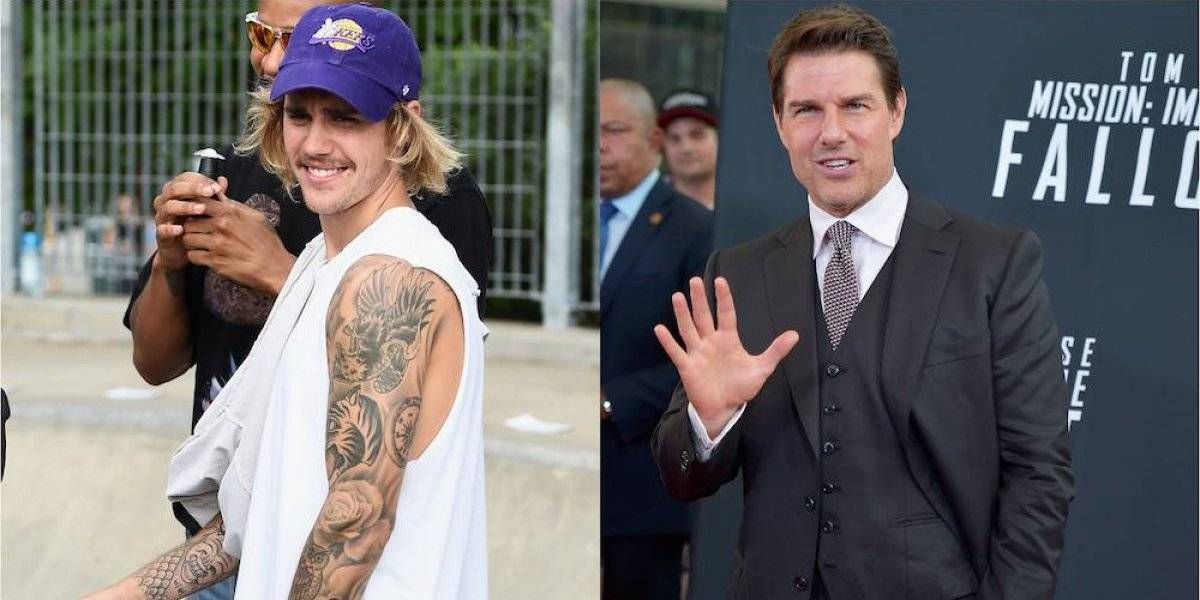 Justin Bieber reta a Tom Cruise a un combate de MMA