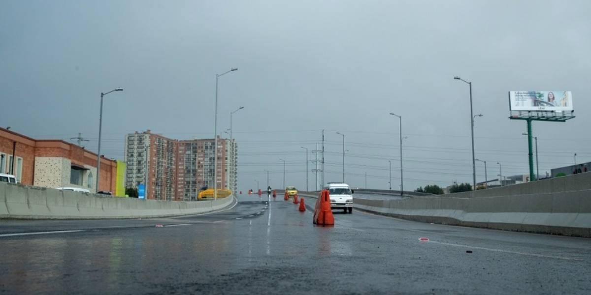 El puente vehicular de calle 183 con Autopista Norte ya está en funcionamiento