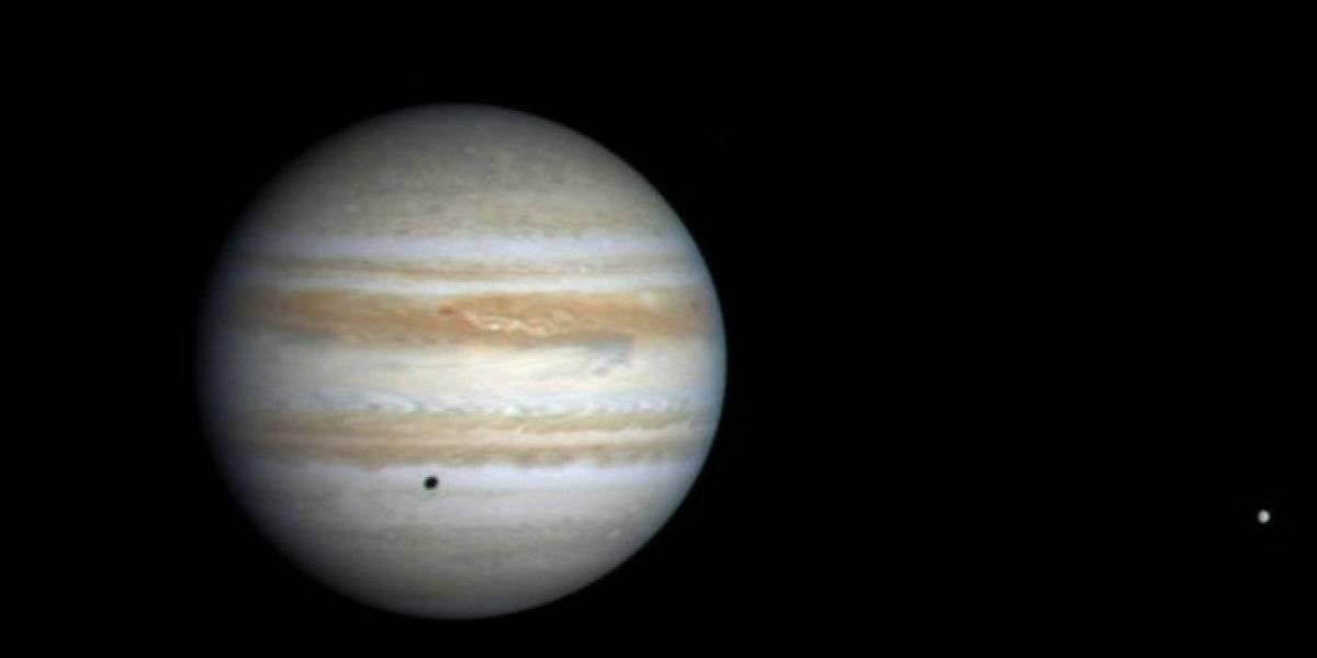 NASA detecta por primera vez una señal de radio procedente de Ganímedes: una de las lunas de Júpiter