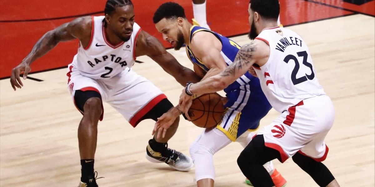 Los Raptors, ante la posibilidad de hacer historia en la NBA, frente a los Warriors