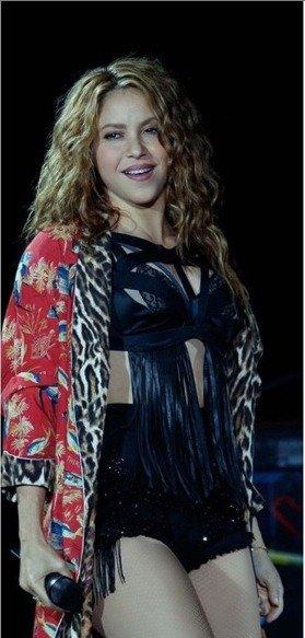 Crecen más los rumores de un embarazo de Shakira después del concierto con Alejandro Sanz
