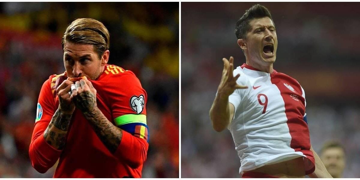 España y Polonia mantienen paso perfecto rumbo a la Eurocopa