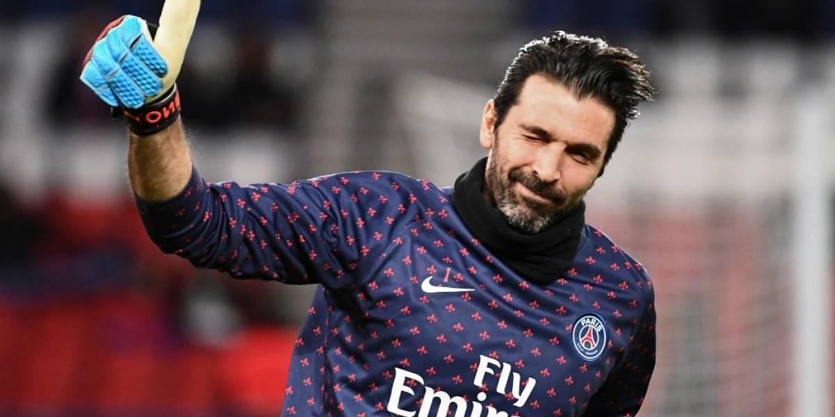 Tras dejar el PSG, Buffon ficharía por este club para terminar su carrera